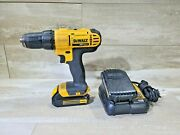 Dewalt Dcd780 20v Max 1/2 Cordless Drill Driver W/ 2 Battery And Charger