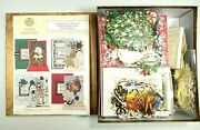 Anna Griffin Christmas Cardmaking Pop-up Kit 50 Holiday Cards 3d Complete 2015
