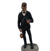 Fred Curtis Railroad Conductor Collectible Figure Salem Towne Collectibles