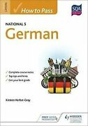 How To Pass National 5 German Eurostars By Her...   Book   Condition Very Good