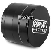Formax420 55mm / 2.2 Inch 4 Layers Cnc Aluminum Herb Grinder Spice Grinders