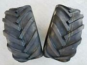 Deestone Two 23x10.5012 6ply Rated 23x10.50x12 Tractor Lug Ag Tire 23x105012 2