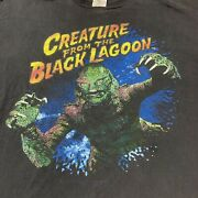 Vintage Creature From The Black Lagoon Universal Monsters T Shirt Horror 2xl
