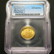 1873-a Gold Germany 10 Mark G.s. Prussia Icg Ms66 Km502