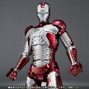 Bandai S.h.figuarts Iron Man Mark 5 Action Figure 6.2-inch From Japan