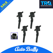Trq Ignition Coil Pack Set Of 4 Fits Crown Victoria Expedition Explorer Mustang