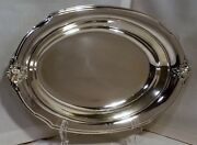 Wilcox Silverplate Vegetable Dish Spring Garden 112 Int Silver 12 Oval