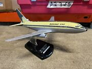 Vintage Topping Boeing 737-100 Model - 1/100 Scale W/ Base - Free Shipping