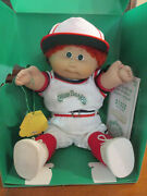 Vtg New Coleco Limited Edition Cabbage Patch Kid 1985 Japanese Boy Original Box