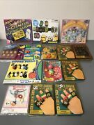 Vintage 5 And 10 Dime Store Novelty Toys On Display Cards Nos Huge Lot