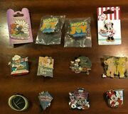 Disney Pins Lot Of 12 Special Event Pins Trading