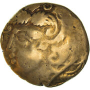 [908922] Coin Bituriges Stater Ist Century Bc Gold Delestrandeacutee3396