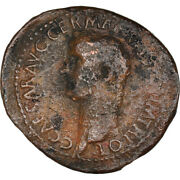 [908816] Coin, Germanicus, As, 37-38, Rome, Vf30-35, Bronze, Ric38