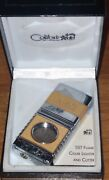 New Colibri Of London Quantum Sst Flame Cigar Lighter And Cutter Butane No Torch