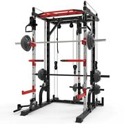 Home Gym Smith Fitness Musculation Equipment Machine Workout Exercise Train Rack