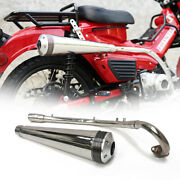 Full Exhaust System Supertrapp For Honda Ct125 Hunter Trail New 2020 2021