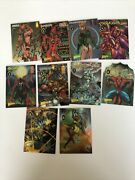 Chrome Promo Cards 12345678910 Wizard Magazine And Assorted Others
