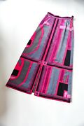 Vintage Emilio Pucci Made In Italy For Lord X Taylor Velvet Maxi Skirt - Size 8