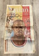 Vintage Lot Of Chicago Bulls Championship Newspapers Very Rare