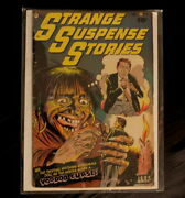 Strange Suspense Stories 5 Fawcett 1952- Pch Comic Book-baily Voodoo Doll Cover