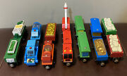 Thomas And Friends Wooden Multiple Pairs Fire Clay Rubbish Box Recycling Gold Dino