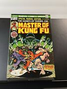 Special Marvel Edition 15 And 16 Master Of Kung Fu - Excellent Copy