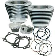 Sands Cycle 98in. Big Bore Kit - Silver Powder-coat - 910-0482