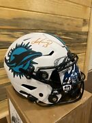 Dan Marino Signed Dolphins Lunar Eclipse Full Size Authentic Pro Helmet