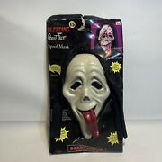 Scary Movie Scream Bleeding Ghost Face Spoof Mask With Heart Pump And Blood New