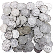 Franklin Half Dollar Lot 90 Silver 50 Face 100 Us Coins Mixed Date