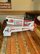 Tape Gun Hand Held Reinforced Dispenser New Filament Strap-it Permacel Strapping