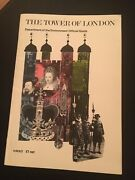 The Tower Of London Department Of Environment Official Guide Book 56 Pages, 1983