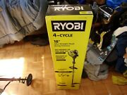 Ryobi Ry4css 4-cycle 30cc Attachment Capable Straight Shaft Gas Trimmer