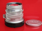 Leica M 50mm F1.5 Summarit Late Style Lens With Caps Us Seller Lqqk Nice
