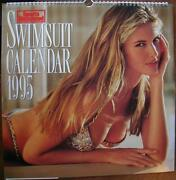 Sports Illustrated Swimsuit 1995 Over-size Calendar 17x12