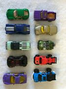 Lot Of 10 Loose Toy Cars Matchbox Die Cast Good Condition Forestry Truck Jeep