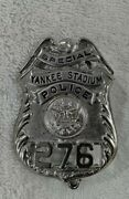 Rare Yankee Stadium Special Police Badge New York Yankees Vintage 1950and039s