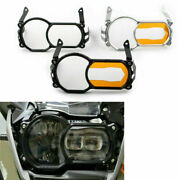 1pc Headlight Lens Protector Guard Cover Acrylic Patch Fit Bmw R1200gs Lc Adv