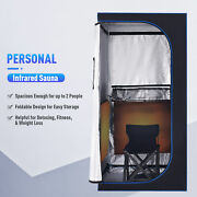 Home Spa Therapy Set Infrared Sauna With Heat Mat Folding Chair And Remote Control