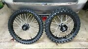 Used Talon Hubs With Excel Rims See Ad For Fitment Many Yamaha Yz Yzf Wr Models