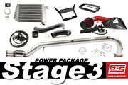 Grimmspeed Stage 3 Power Package W/ Red Intake For 2015+ Subaru Wrx Fa20