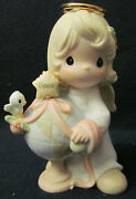 Precious Moments Chapel Exclusive Figurine 116710 Christmas Around The World