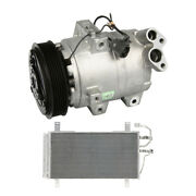 For Mazda 6 2003 2004-2008 Oem Ac Compressor W/ A/c Condenser And Drier Csw