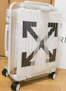 Rimowa X Off White 2nd Limited See Through White Carry Case Luggage 36l New Jp