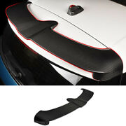 Fit For Mini Cooper Countryman F60 Dry Carbon Fiber Rear Boot Spoiler Wing Flap