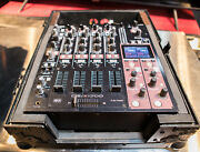 Denon Dn-x1700 Mixer Includes Odyssey Flight Case, Ac Cord, And Owner's Manual
