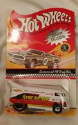 Hot Wheels 17th Convention Charity White Flying Customs Vw Drag Bus Rare Htf Th