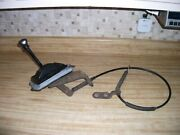 Original 1987-1993 Ford Mustang Automatic Transmission Shifter Assembly W/cable