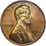 1972 Doubled Die Obverse Lincoln Cent Pcgs Ms66rd Beautiful Early Stage