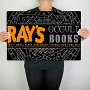 Ghostbusters 2 Rays Occult Books Metal Plate Sign Man Cave Decor Poster Ecto 1